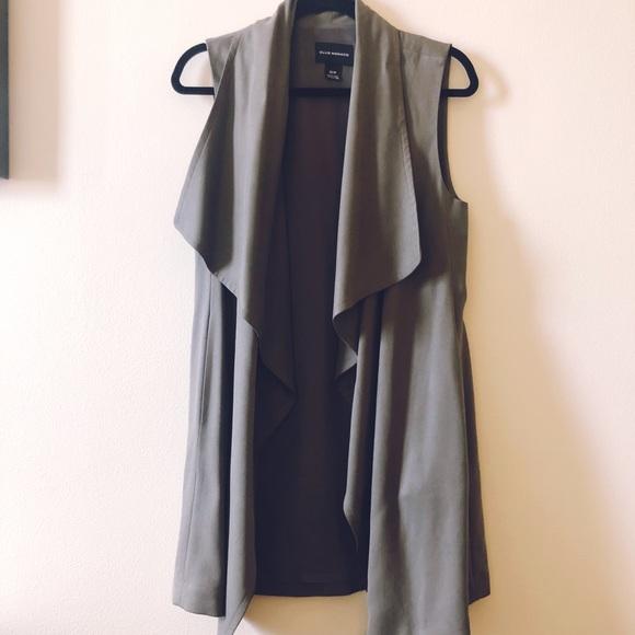 Club Monaco Jackets & Blazers - Olive green long vest